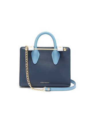 Main View - Click To Enlarge - STRATHBERRY - 'The Strathberry Nano' colourblock leather tote