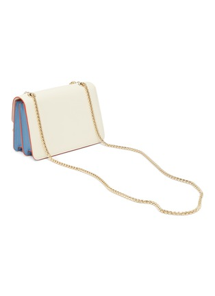 Detail View - Click To Enlarge - STRATHBERRY - 'East/West' mini colourblock leather crossbody bag