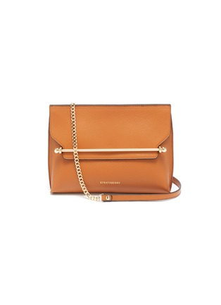 Main View - Click To Enlarge - STRATHBERRY - 'East/West Stylist' leather clutch