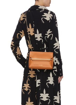 Figure View - Click To Enlarge - STRATHBERRY - 'Stylist' leather clutch