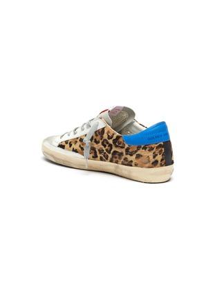 - GOLDEN GOOSE - 'Superstar' leopard print panelled sneakers