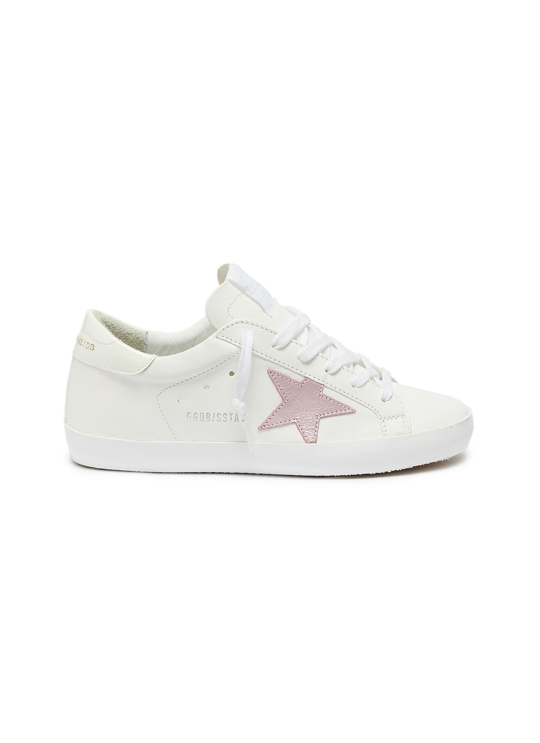 Superstar leather sneakers by Golden Goose