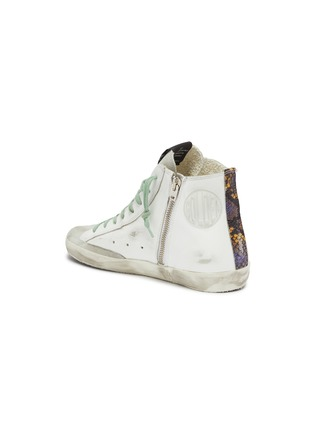 - GOLDEN GOOSE - 'Francy' leather high top sneakers