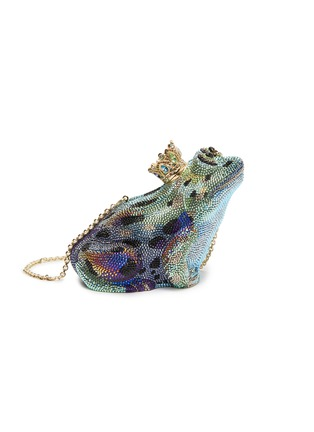 Main View - Click To Enlarge - JUDITH LEIBER - 'Prince Charming Frog' crystal pavé minaudière