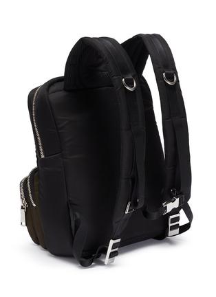 Detail View - Click To Enlarge - PRADA - 'Frankenstein' Tesstuto pocket patch backpack