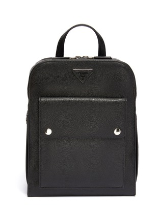 Main View - Click To Enlarge - PRADA - 'Toro' leather backpack