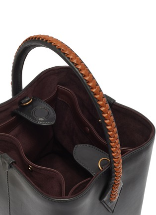 Detail View - Click To Enlarge - MÉTIER - 'Perriand' leather mini tote