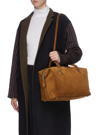 Figure View - Click To Enlarge - MÉTIER - 'Perriand Slouchy' suede bag