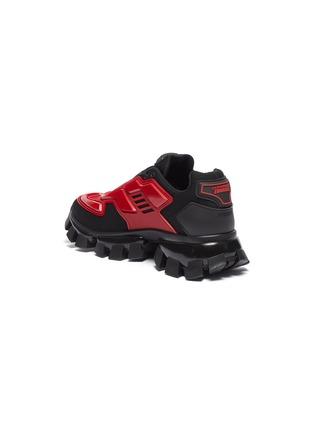 - PRADA - 'Cloudburst Thunder' colourblock panelled chunky sneakers