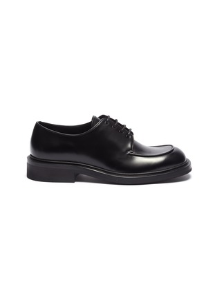 Main View - Click To Enlarge - PRADA - Leather Derbies
