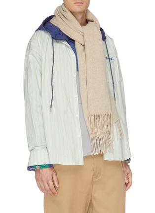 Figure View - Click To Enlarge - ACNE STUDIOS - 'Canada New' oversized wool scarf