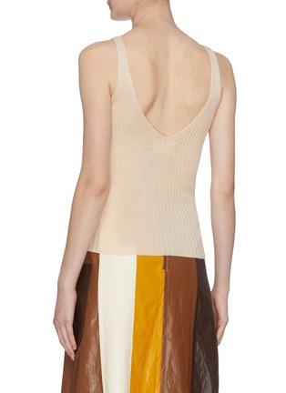 Back View - Click To Enlarge - MIJEONG PARK - Sleeveless rib knit top