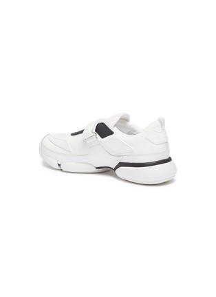 - PRADA - 'Cloudbust' textile hook-and-loop strap panelled neoprene sneakers
