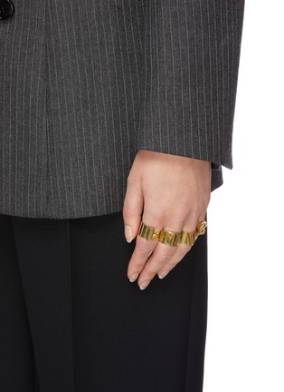 Figure View - Click To Enlarge - ELLERY - 'Groupie Love' ring set