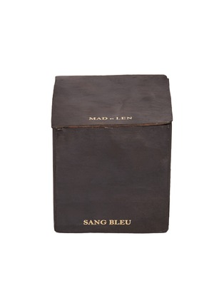 Main View - Click To Enlarge - MAD ET LEN - Scented small block candle – Sang Bleu