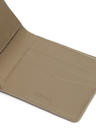 Detail View - Click To Enlarge - TRUNK - Leather bifold wallet