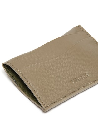 Detail View - Click To Enlarge - TRUNK - Leather card holder