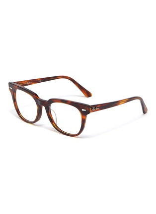 Main View - Click To Enlarge - RAY-BAN - 'Meteor' tortoiseshell acetate square optical glasses