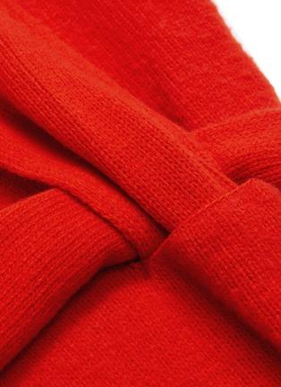 - BOTTEGA VENETA - 'Intercciato' interlock sash knit dress