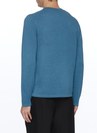 Back View - Click To Enlarge - VINCE - Cashmere crew neck sweater