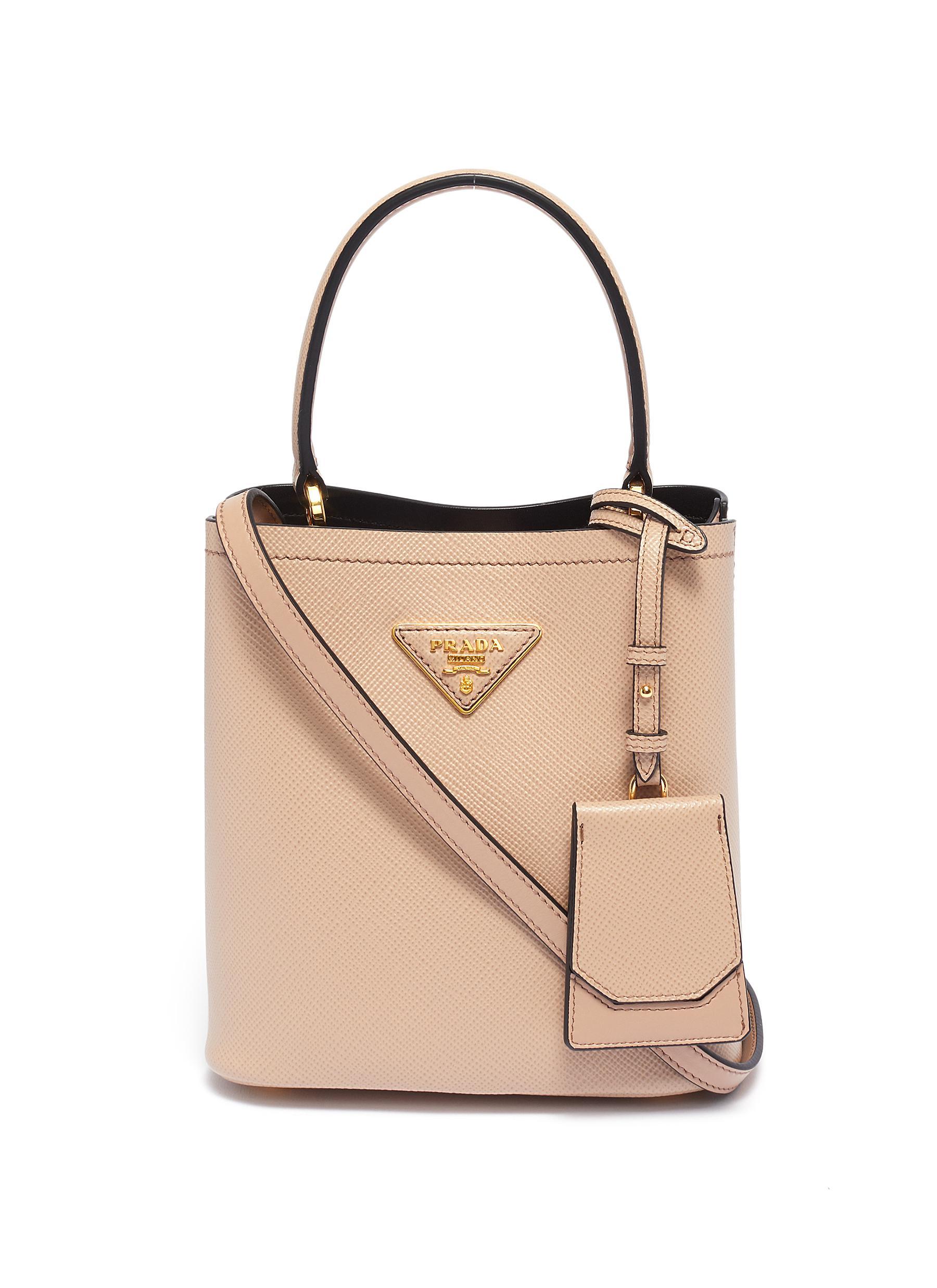 Prada 'Panier' Small Leather Bucket Bag