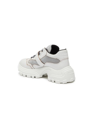 - MIU MIU - Chunky outsole buckled patchwork sneakers