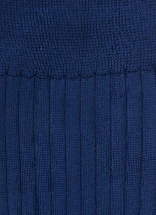 Detail View - Click To Enlarge - FALKE - 'No.13' rib knit socks