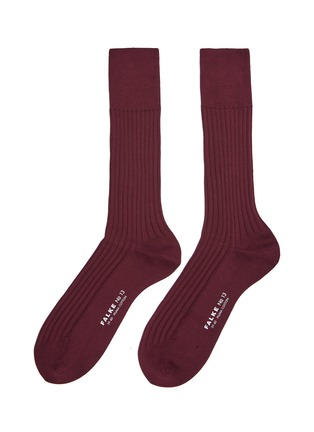Main View - Click To Enlarge - FALKE - 'No.13' rib knit socks