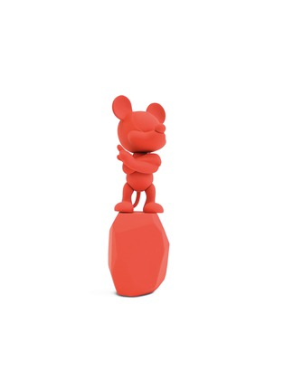 Main View - Click To Enlarge - LEBLON-DELIENNE - x Arik Levy Mickey Rock small sculpture – Red