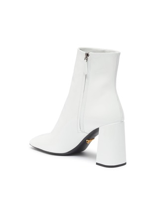 - PRADA - Patent leather ankle boots