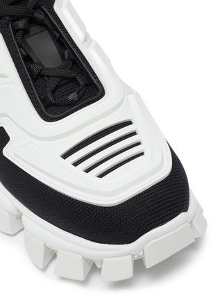 Detail View - Click To Enlarge - PRADA - 'Cloudburst Thunder' colourblock panelled chunky sneakers