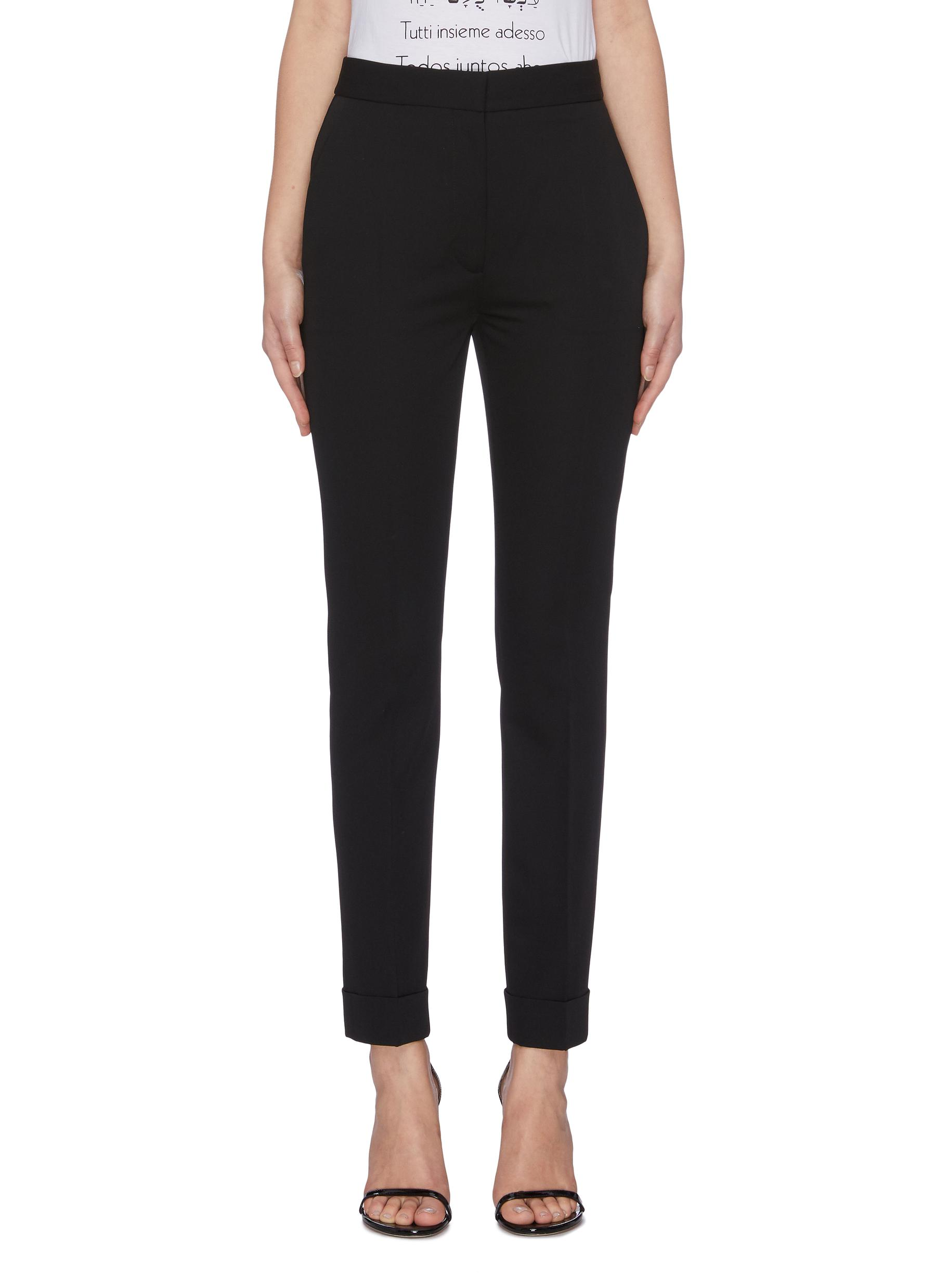 Skinny suiting pants by Stella Mccartney