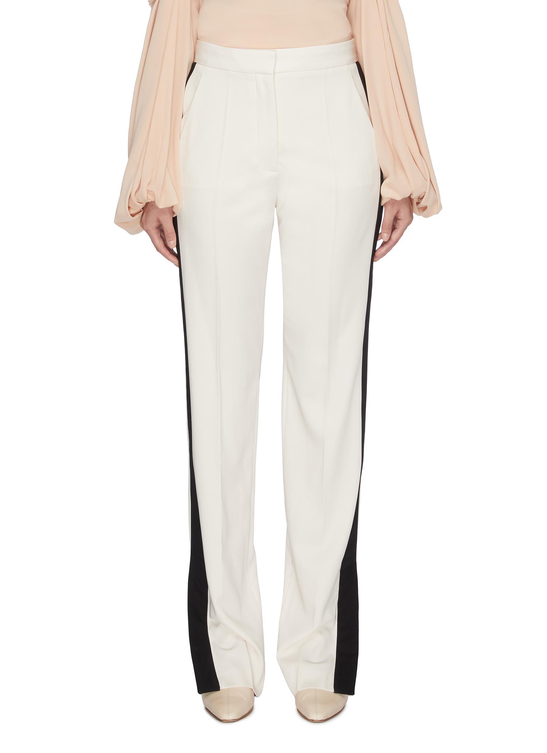 Colourblock outseam pants by Stella Mccartney