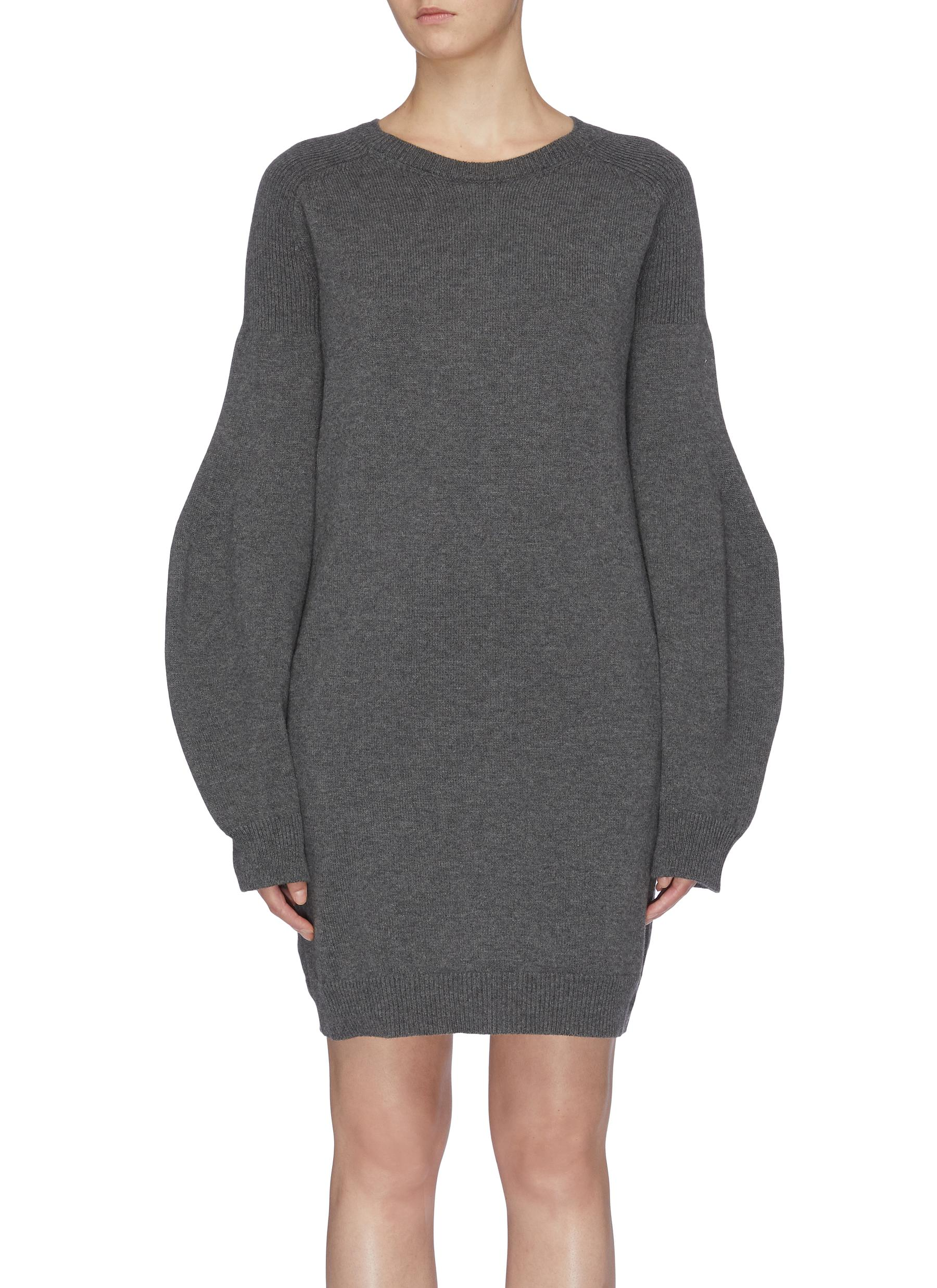 Soft Simple balloon sleeve dress by Stella Mccartney
