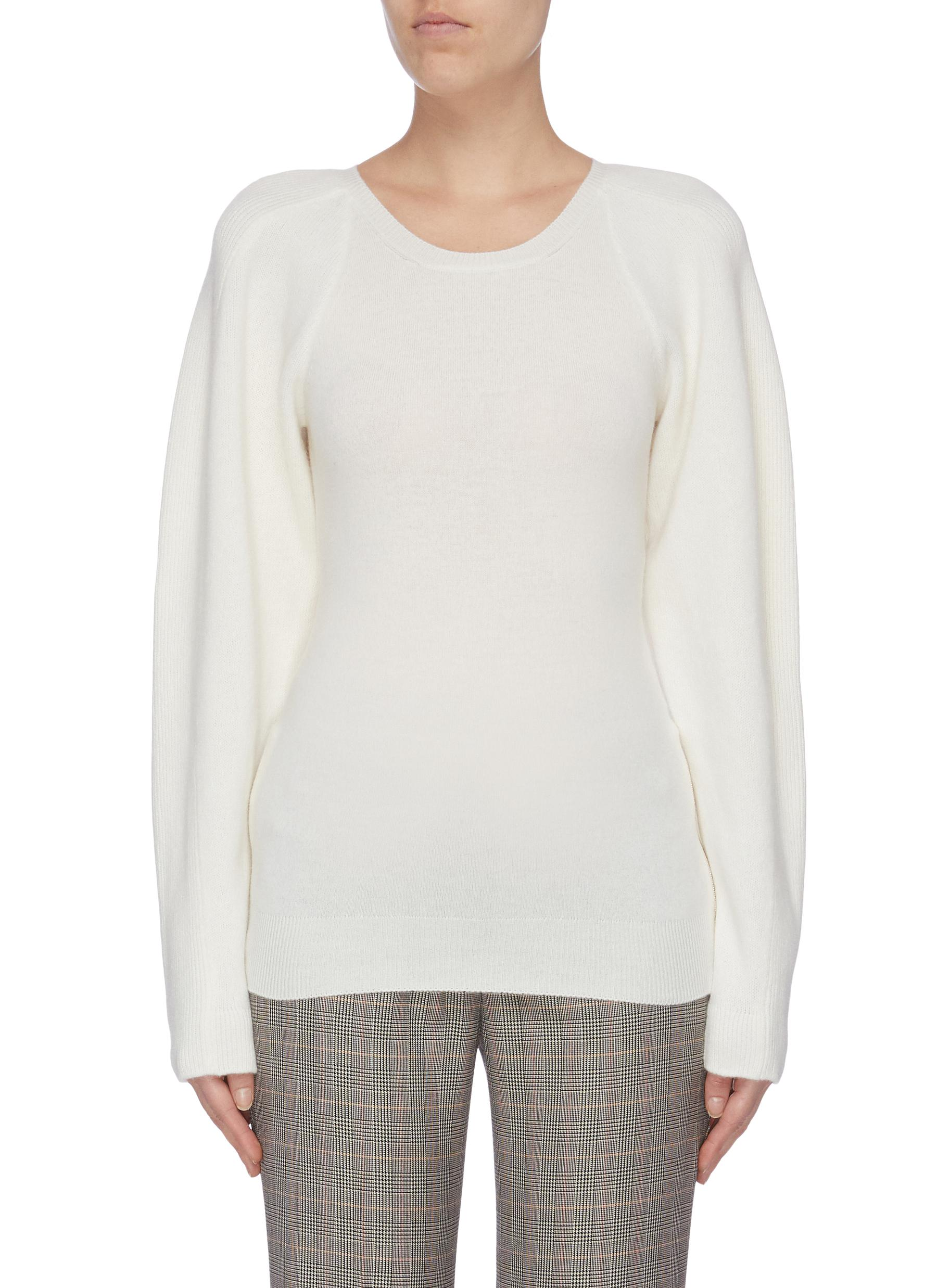 Soft Simple balloon sleeve sweater by Stella Mccartney