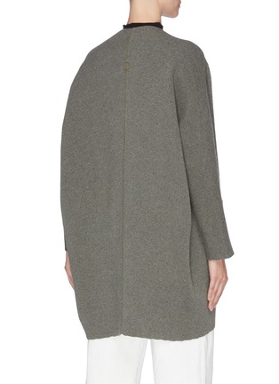 Back View - Click To Enlarge - OYUNA - 'Juni' cashmere wool blend open cardigan