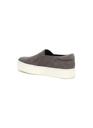 - VINCE - 'Warren' suede platform skate sneakers