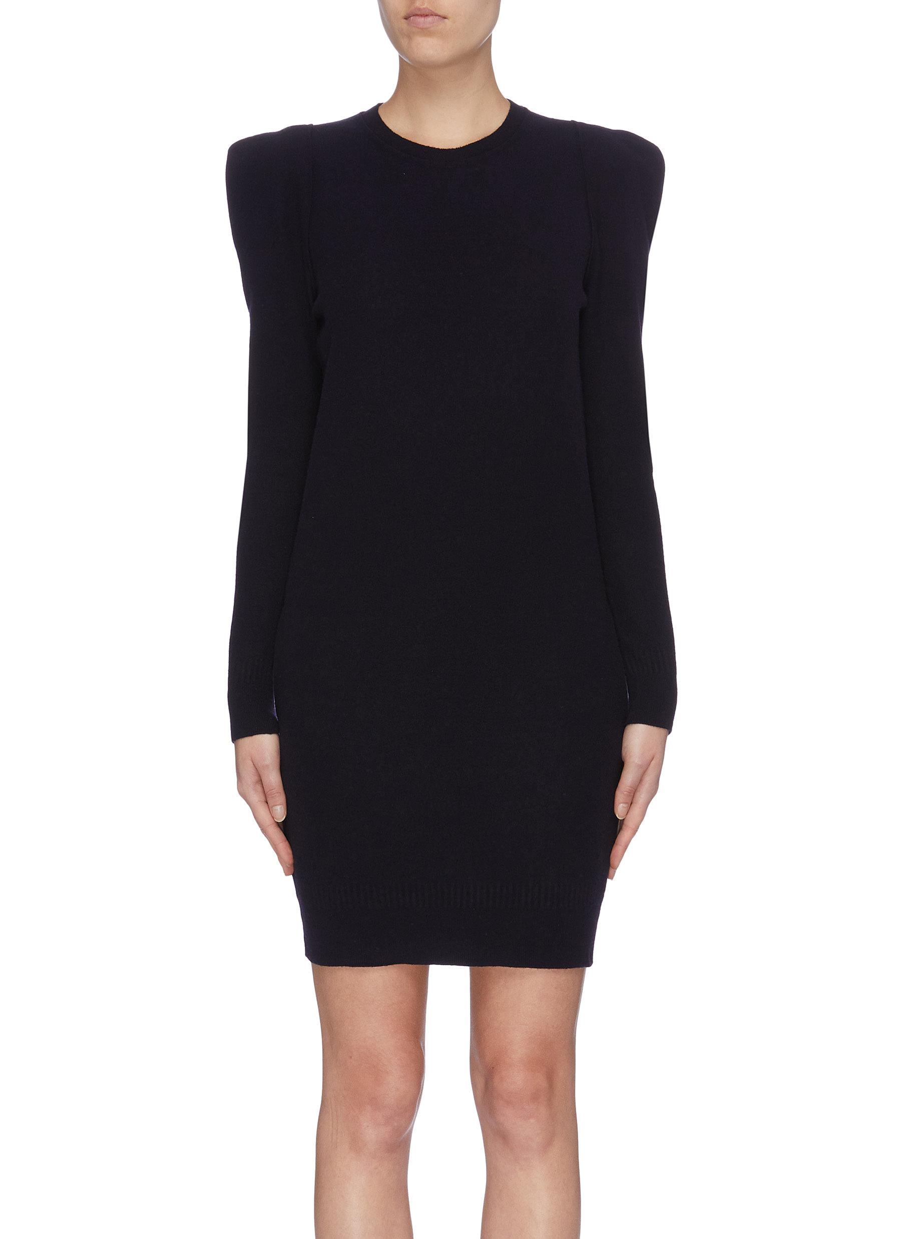 Strong shoulder knit dress by Stella Mccartney