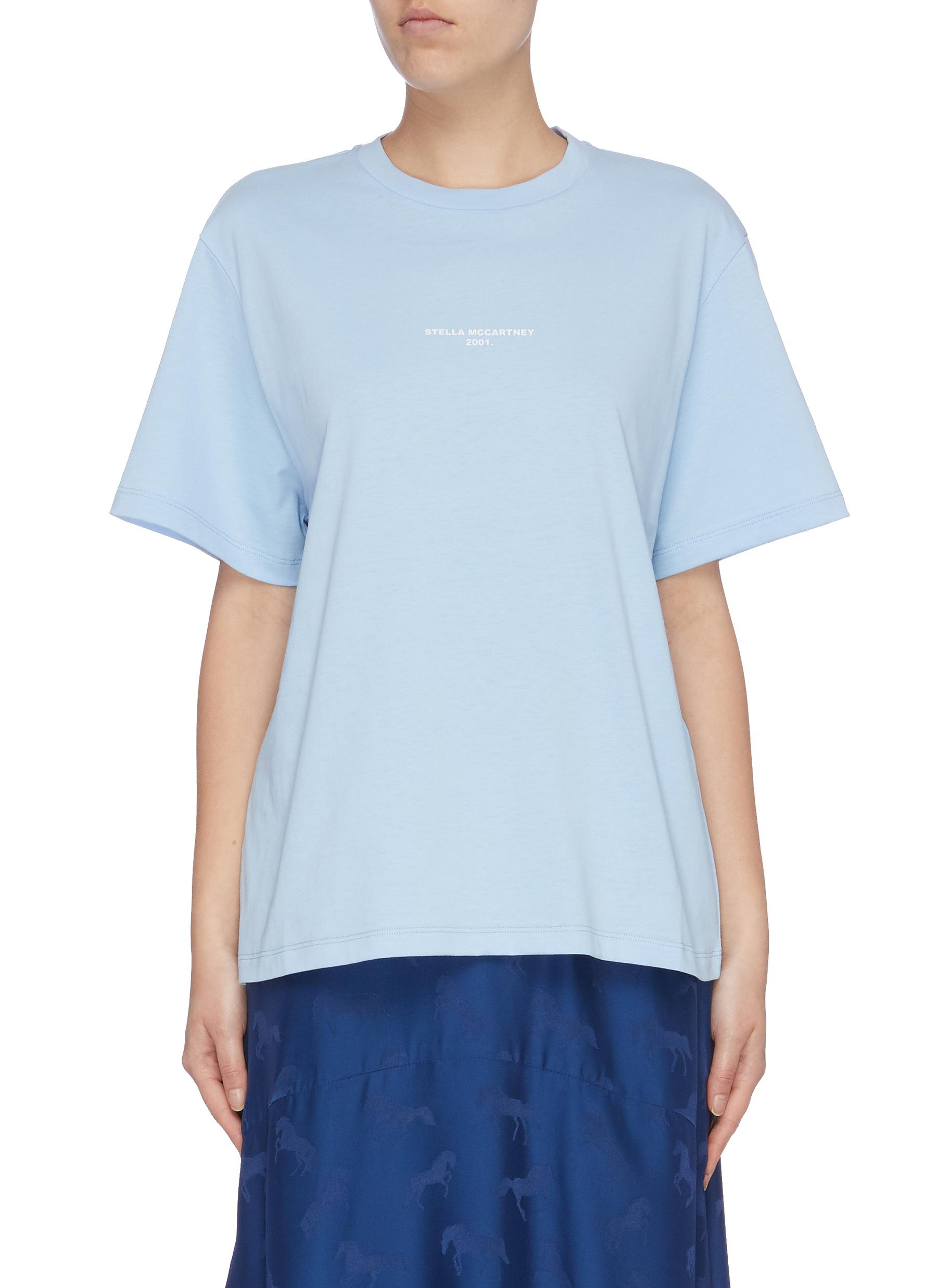 Stella 2001 logo print T-shirt by Stella Mccartney