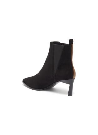 - MERCEDES CASTILLO - 'Eletta' colourblock suede panel leather Chelsea boots