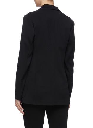 Back View - Click To Enlarge - VICTORIA BECKHAM - Patch pocket virgin wool twill blazer