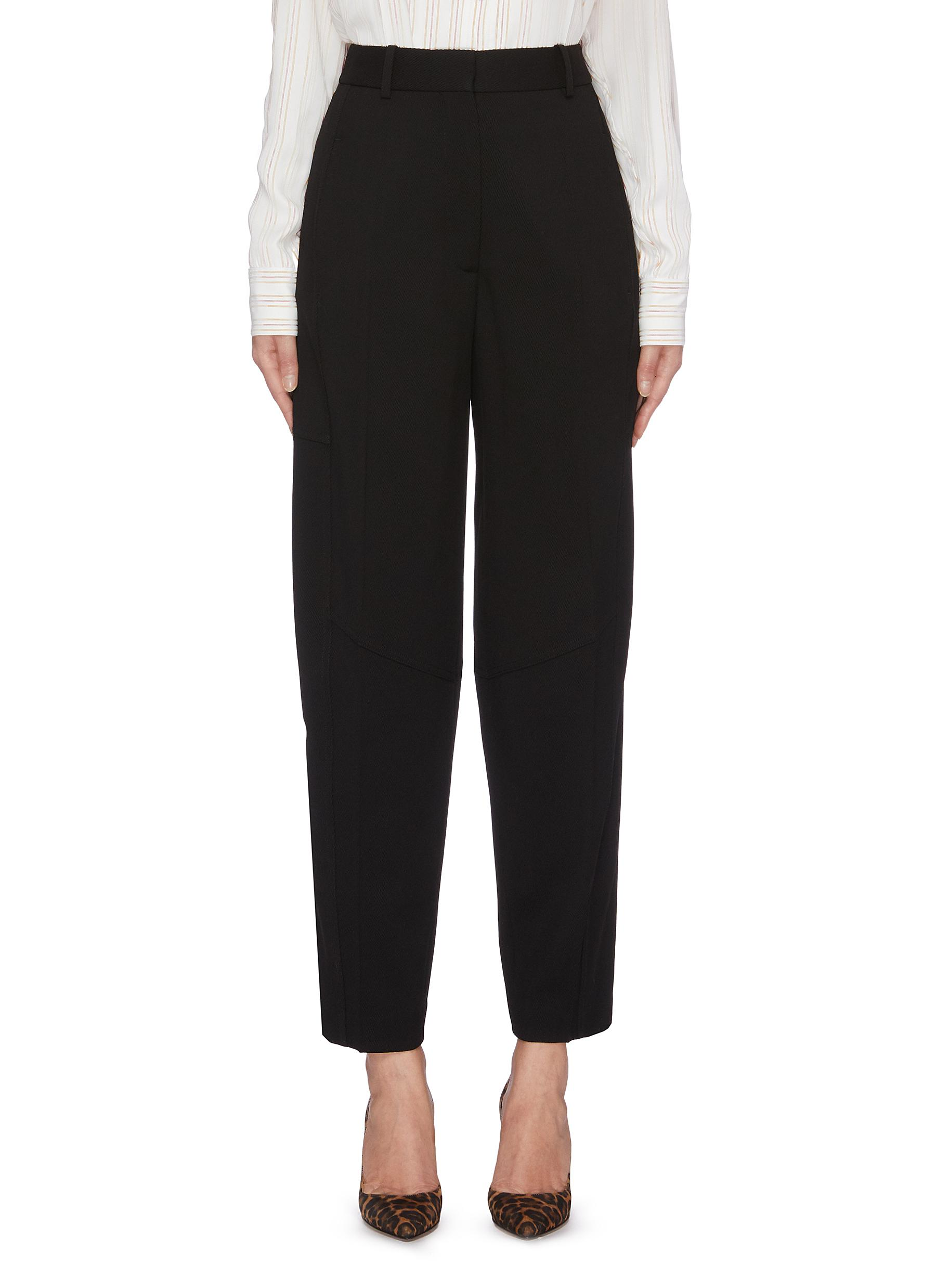 Panelled tapered suiting pants by Victoria Beckham