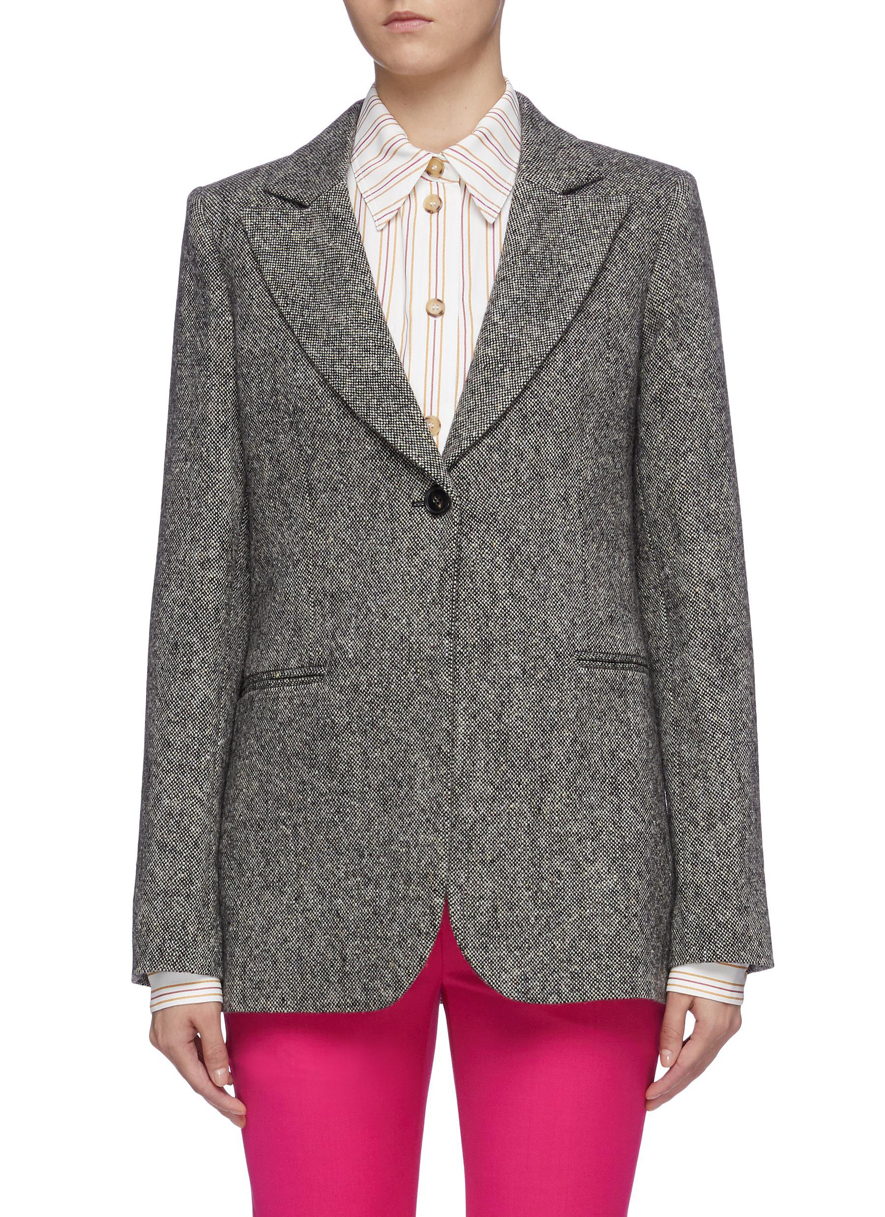 Wool tweed jacket by Victoria Beckham