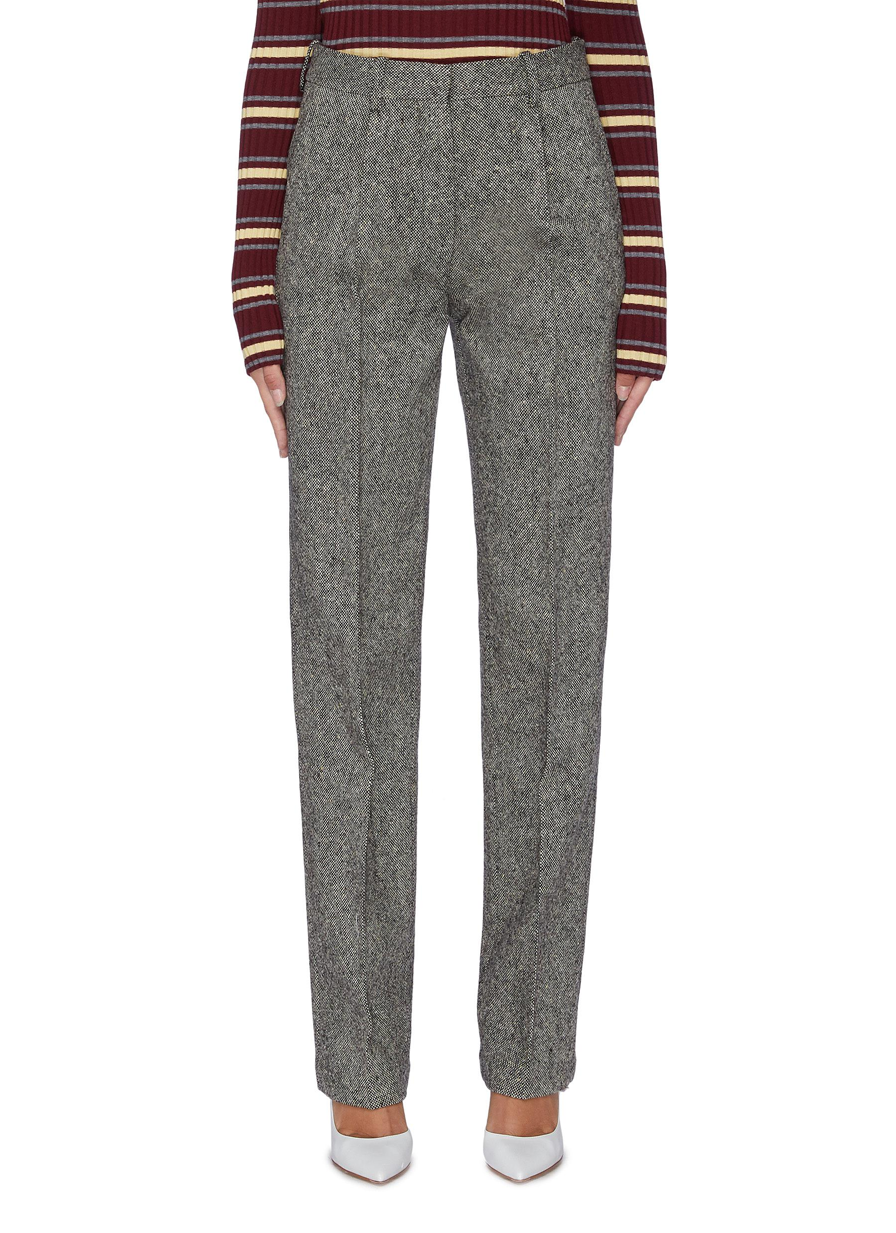 Tweed suiting pants by Victoria Beckham