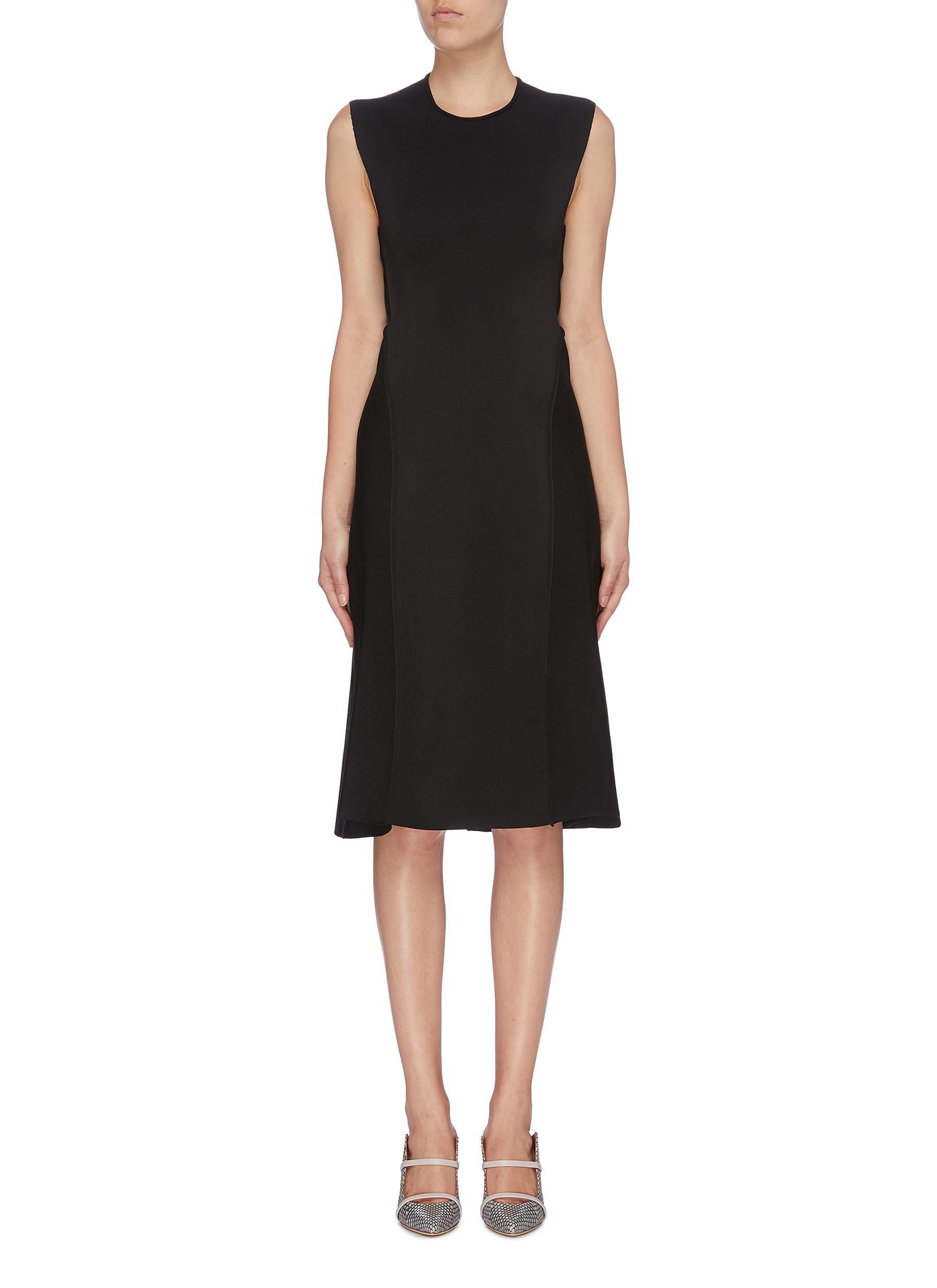 Cross back sleeveless dress by Victoria Beckham