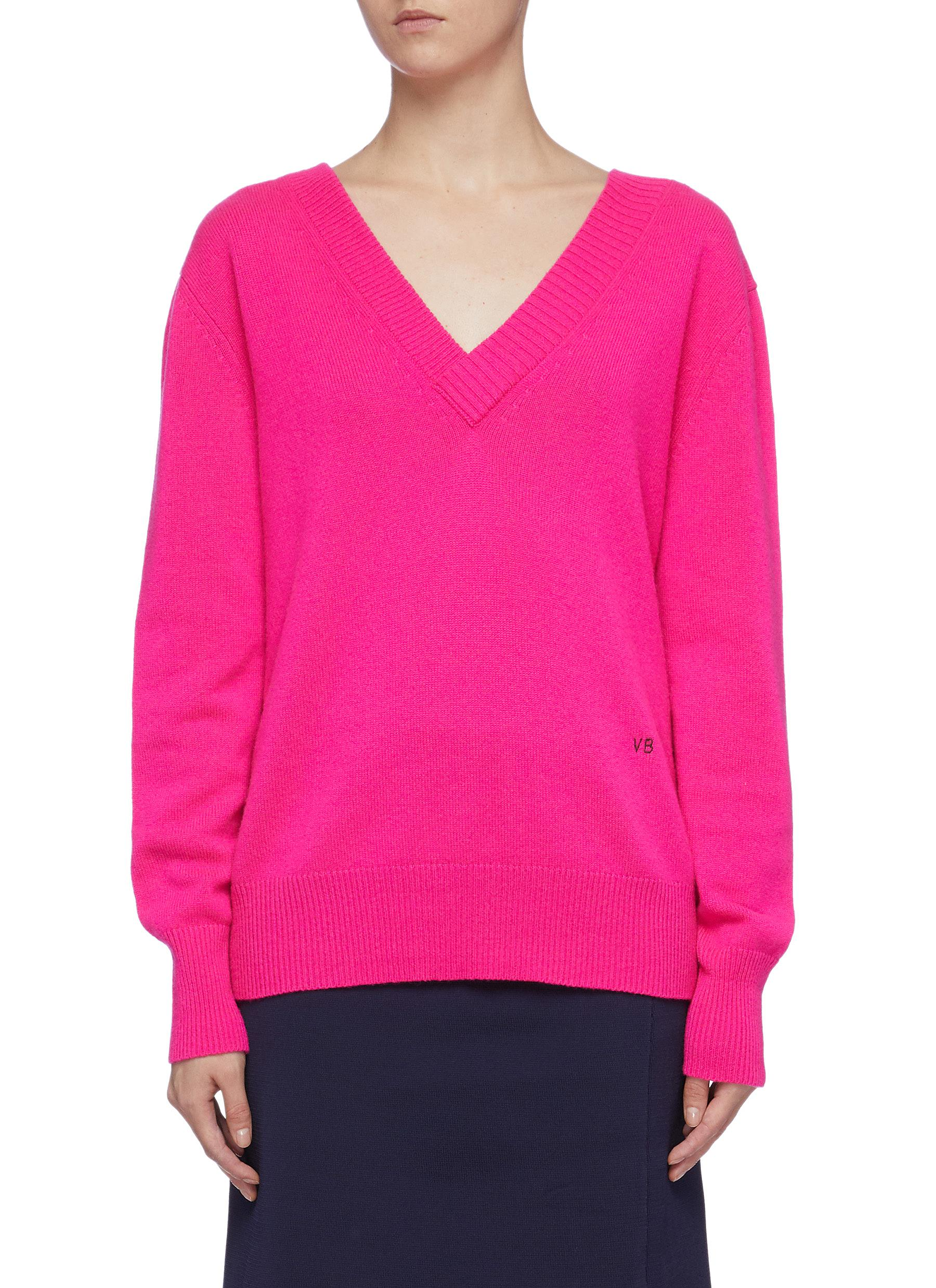 Cashmere V-neck sweater by Victoria Beckham