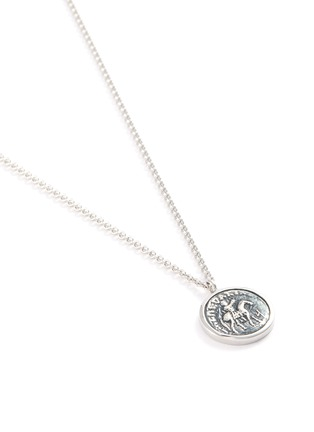 Detail View - Click To Enlarge - TOM WOOD - 'Coin' silver pendant necklace
