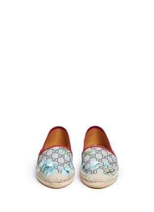 Front View - Click To Enlarge - Gucci - 'GG Blooms' floral print espadrilles