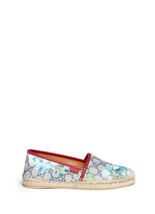 Main View - Click To Enlarge - Gucci - 'GG Blooms' floral print espadrilles