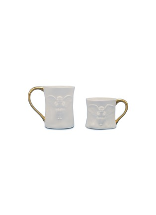 Main View - Click To Enlarge - X+Q - Angel mug set
